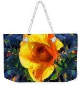 Jungle Rose Weekender Tote Bag