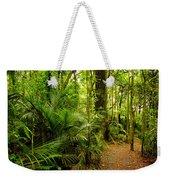 Jungle Scene Weekender Tote Bag by Les Cunliffe