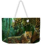 Jungle Spirit - Leopard Weekender Tote Bag