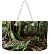 Jungle Trunks1 Weekender Tote Bag by Les Cunliffe