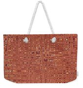Jungles Of Pink Lines Weekender Tote Bag