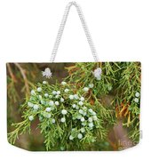 Juniper Berries Weekender Tote Bag