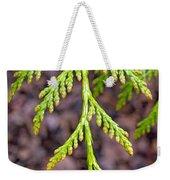 Juniper Leaf Weekender Tote Bag