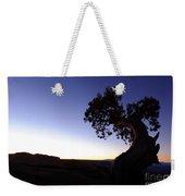 Juniper Tree At Dawn Weekender Tote Bag