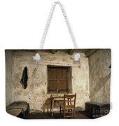 Junipero Serra Cell In Carmel Mission Weekender Tote Bag