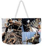 Junk Collage  Weekender Tote Bag