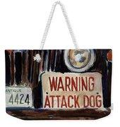 Junkyard Dog Weekender Tote Bag