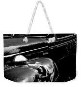 Junkyard Series Old Plymouth Black And White Weekender Tote Bag