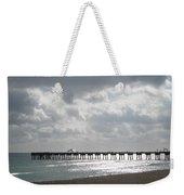 Juno Beach Pier Weekender Tote Bag