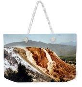 Jupiter Terrace Yellowstone National Park Weekender Tote Bag