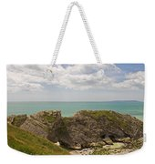 Jurassic Coast At Lulworth Weekender Tote Bag