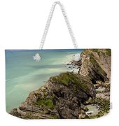 Jurassic Coast From Lulworth Cove Weekender Tote Bag