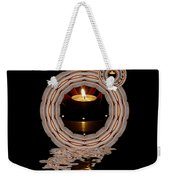 Just A Candle In The Wind Weekender Tote Bag