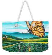 Just Another Monarch Monday Weekender Tote Bag