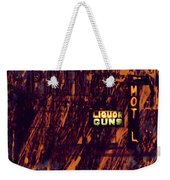 Just Another Night Weekender Tote Bag