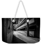 Just Another Side Alley Weekender Tote Bag