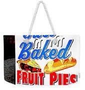 Just Baked Weekender Tote Bag
