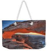 Just Before Sunrise At Canyonlands Weekender Tote Bag