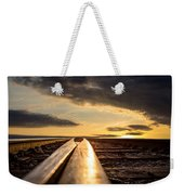 Just Before Sunrise Weekender Tote Bag by Bob Orsillo