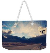 Just Down The Road Weekender Tote Bag by Laurie Search