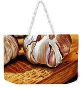Just Garlic Weekender Tote Bag