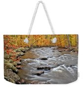 Just Going With The Flow Weekender Tote Bag