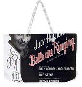 Just In Time Weekender Tote Bag