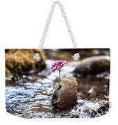 Just Let Your Love Flow Weekender Tote Bag