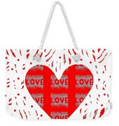 Just Love Weekender Tote Bag