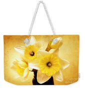 Just Plain Daffy 1 - Flora - Spring - Daffodil - Narcissus - Jonquil Weekender Tote Bag