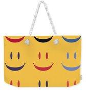 Just Smile Weekender Tote Bag