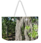 Just The Backyard Weekender Tote Bag