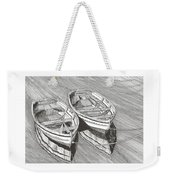 Two Dinghy Friends Just The Two Of Us Weekender Tote Bag