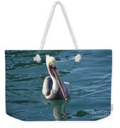 Just Wading Weekender Tote Bag by Laurie Lundquist