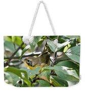 Juvenile Common Yellowthroat Weekender Tote Bag
