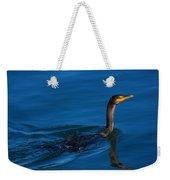 Juvenile Cormorant Swim Weekender Tote Bag