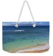 Kaanapali Ocean Aerial Weekender Tote Bag