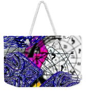 Kabbalah And Fish Weekender Tote Bag