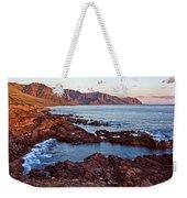 Ka'ena Point Oahu Sunset Weekender Tote Bag