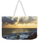 Kaena Point State Park Sunset 3 - Oahu Hawaii Weekender Tote Bag