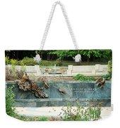 Kahlil Gibran Memorial Garden Weekender Tote Bag