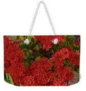 Kalanchoe Flowers Weekender Tote Bag