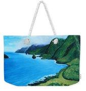 Kalaupapa Peninsula Weekender Tote Bag
