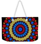 Kaleidoscope Of Colorful Embroidery Weekender Tote Bag