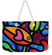 Kaleidoscope Reef Weekender Tote Bag