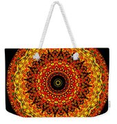 Kaleidoscope Stained Glass Window Series Weekender Tote Bag