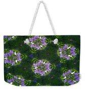 Kaleidoscope Violets Weekender Tote Bag