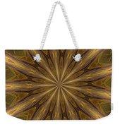 Kaleidoscope With Gold Weekender Tote Bag