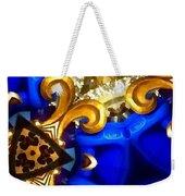 Kaleidoscopic Blues Fdl  Weekender Tote Bag
