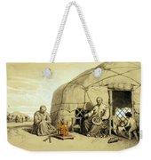 Kalmuks With A Prayer Wheel, Siberia Weekender Tote Bag